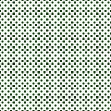 Escuro - polca pequena verde e branca Dots Pattern Repeat Background ilustração royalty free