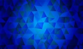 Escuro - projeto original do fundo azul para a Web ou o papel de parede Fotos de Stock