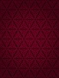 Escuro - projeto vermelho do papel de parede do vintage Fotografia de Stock
