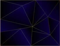 Escuro - quadro de mensagens cinzento da ilustração do vetor da dimensão azul da sobreposição do fundo para o texto e o Web site  ilustração do vetor