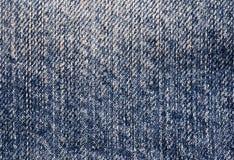Escuro - sarja de Nimes azul foto de stock royalty free