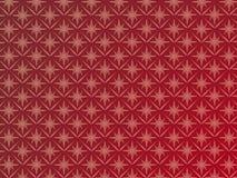Escuro - tapeçaria vermelha Imagens de Stock