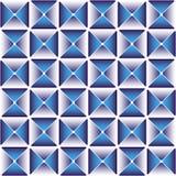 Escuro - teste padrão azul do drapery Fotografia de Stock Royalty Free