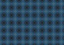 Escuro - teste padrão azul do Weave   Foto de Stock