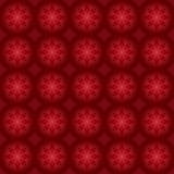 Escuro - teste padrão vermelho para o fundo Fotos de Stock Royalty Free