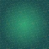 Escuro - teste padrão sem emenda verde com café Fotos de Stock