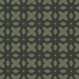 Escuro - testes padrões sem emenda do vetor universal verde, telhando Ornamento geométricos Fotografia de Stock Royalty Free