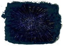 Escuro - textura azul Fotos de Stock Royalty Free