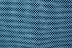 Escuro - textura azul da tela Fotografia de Stock