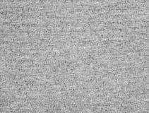 Escuro - textura cinzenta da tela do t-shirt Imagens de Stock
