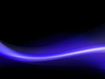 Escuro - fundo ondulado azul e roxo Foto de Stock