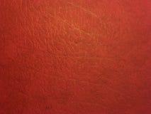 Escuro - textura vermelha da pele Foto de Stock Royalty Free