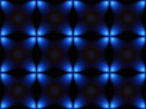 Escuro - texturas azuis ilustração stock