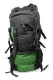 Escuro - trouxa verde do turista Foto de Stock Royalty Free
