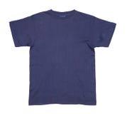 Escuro - tshirt azul Fotografia de Stock Royalty Free