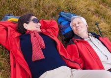 Escursione degli anziani 26 Fotografia Stock
