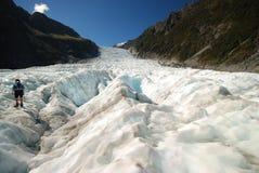 Escursione del ghiacciaio di Fox. Immagine Stock Libera da Diritti