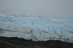 Escursione del ghiacciaio Moreno Fotografie Stock Libere da Diritti