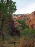 Escursione del Grand Canyon Fotografie Stock Libere da Diritti