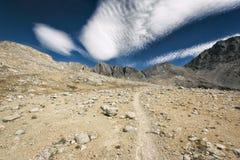 Escursione del John Muir Trail Fotografia Stock