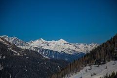 Escursione del percorso nelle alpi di Julian Fotografie Stock Libere da Diritti