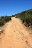 Escursione del percorso sulla montagna della tabella, la Sudafrica Immagini Stock Libere da Diritti