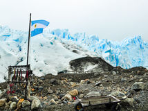 escursione dell'attrezzatura su ghiaccio Fotografie Stock