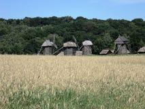 Escursione dell'Ucraina Kiev al museo di architettura fotografia stock