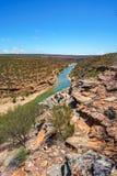 Escursione della traccia del ciclo della finestra delle nature, parco nazionale di kalbarri, Australia occidentale 9 immagini stock