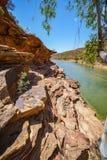 Escursione della traccia del ciclo della finestra delle nature, parco nazionale di kalbarri, Australia occidentale 15 immagine stock