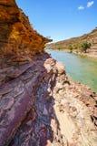 Escursione della traccia del ciclo della finestra delle nature, parco nazionale di kalbarri, Australia occidentale 16 fotografie stock