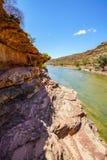 Escursione della traccia del ciclo della finestra delle nature, parco nazionale di kalbarri, Australia occidentale 19 fotografie stock