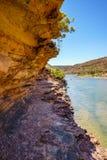 Escursione della traccia del ciclo della finestra delle nature, parco nazionale di kalbarri, Australia occidentale 20 immagini stock