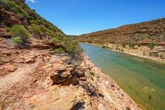 Escursione della traccia del ciclo della finestra delle nature, parco nazionale di kalbarri, Australia occidentale 29 fotografia stock