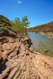 Escursione della traccia del ciclo della finestra delle nature, parco nazionale di kalbarri, Australia occidentale 28 fotografie stock