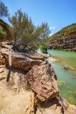 Escursione della traccia del ciclo della finestra delle nature, parco nazionale di kalbarri, Australia occidentale 38 fotografia stock