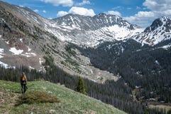 Escursione della tundra fotografia stock