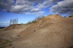 Escursione delle dune dell'orso di sonno Fotografie Stock Libere da Diritti