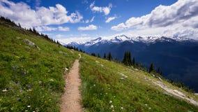 Escursione di Whistler Fotografie Stock