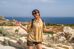 Escursione Enjoy Immagine Stock