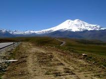 Escursioni nelle montagne Fotografia Stock