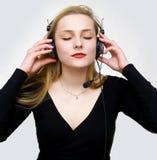 Escuta os sons imagem de stock royalty free