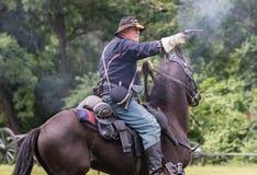 Escuteiro Action da cavalaria Imagem de Stock