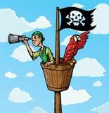 Escuteiro do pirata Fotografia de Stock