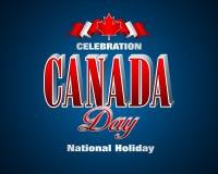 Esdoornblad, Canadees nationaal wapenschild Stock Foto's