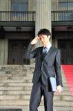 Esecutivo asiatico di buon senso 8 di tecnologia Fotografia Stock