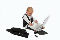 Esecutivo di vendite del bambino 12 Fotografia Stock Libera da Diritti