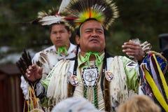 Esecutore del nativo americano fotografia stock
