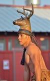 Esecutore di folclore Fotografia Stock Libera da Diritti