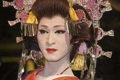 Esecutore di Kabuki Fotografie Stock